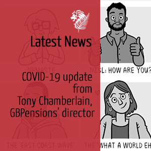 COVID-19 update from Tony Chamberlain, GBPensions' director
