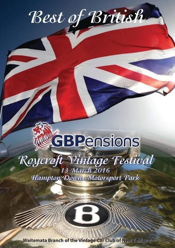 Celebrating the Best of British at the GBPensions Roycroft Vintage Festival
