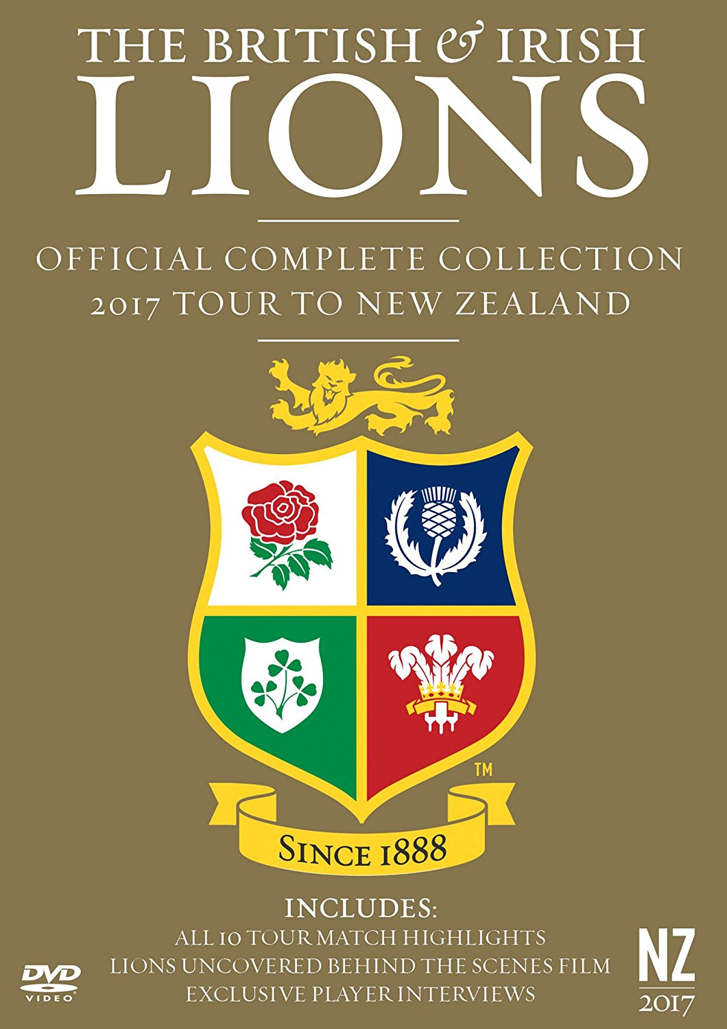 British and Irish Lions: Official Complete Collection, 2017 Tour to New Zealand